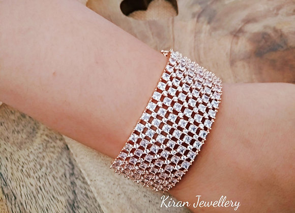 Rosegold Polish Stylish Bracelet