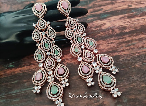 Pink and Mint Stone Exclusive Piece