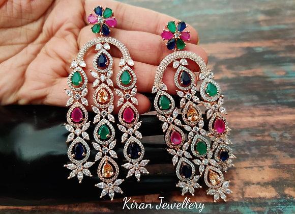 Multicolor Stylish Earrings