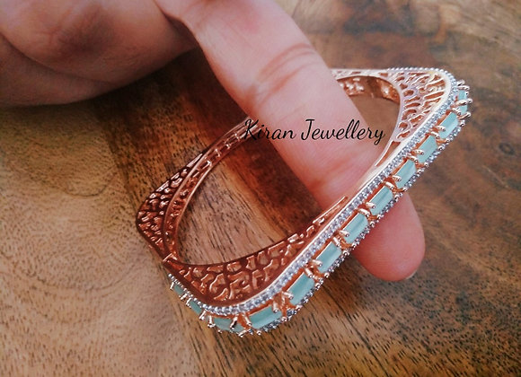 SeaGreen Stone Sleek Bracelet