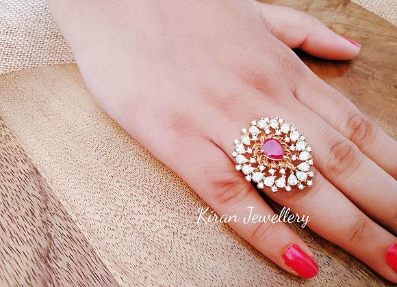 Ruby Stone Beautiful Ring