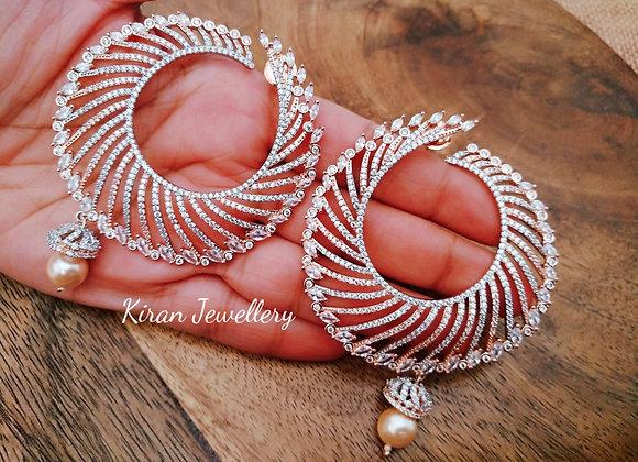 RoseGold Polish Royal Earrings