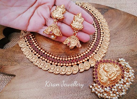 Temple Sleek Mala Necklace