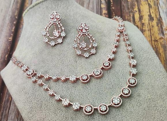 Double-Line Elegant Necklace