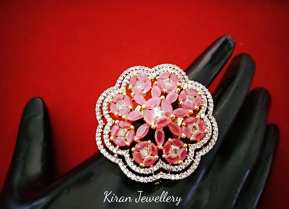 Ruby Color Stylish Ring