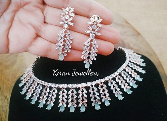 Mint Shade Stylish Necklace