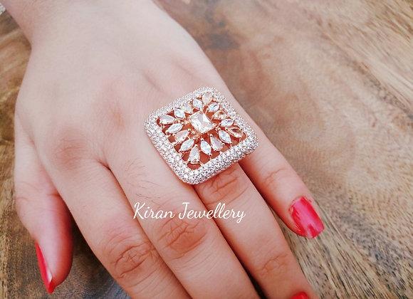 RoseGold Polish Elegant Ring