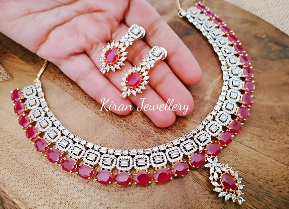Ruby AD Necklace