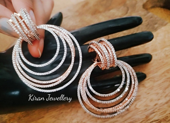 RoseGold Polish Chandbaali