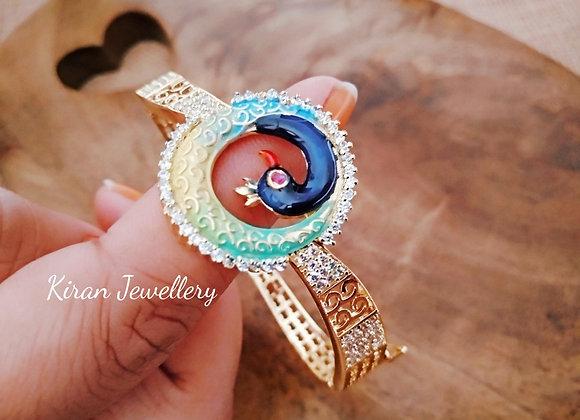 Elegant Peacock Bracelet