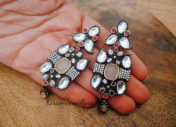Indo-Western Stylish Earrings