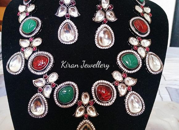 Black Polish Stylish Necklace