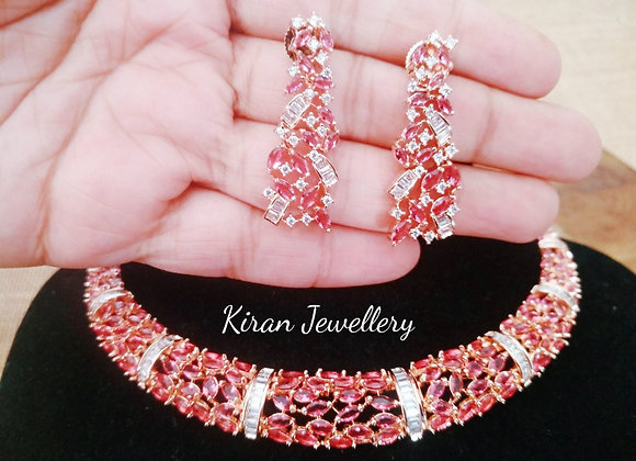 Ruby Elegant Necklace