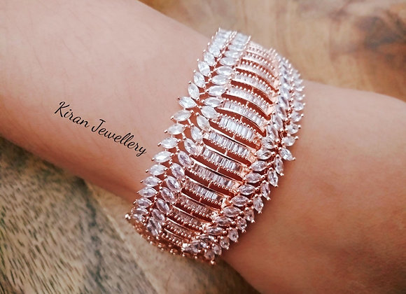 Rose Gold Polish Elegant Bracelet