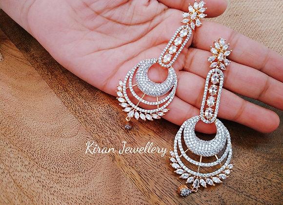 Elegant and Graceful AD Earrings