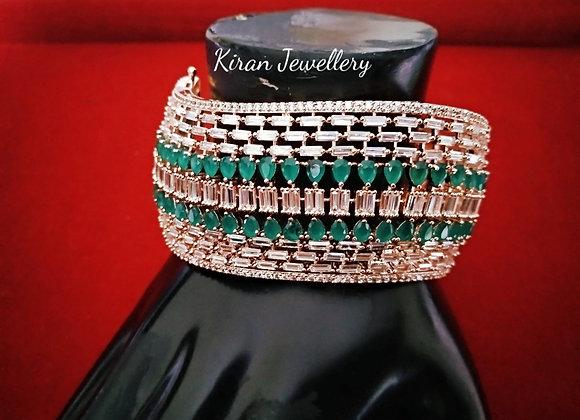 Green Stone Stylish Bracelet