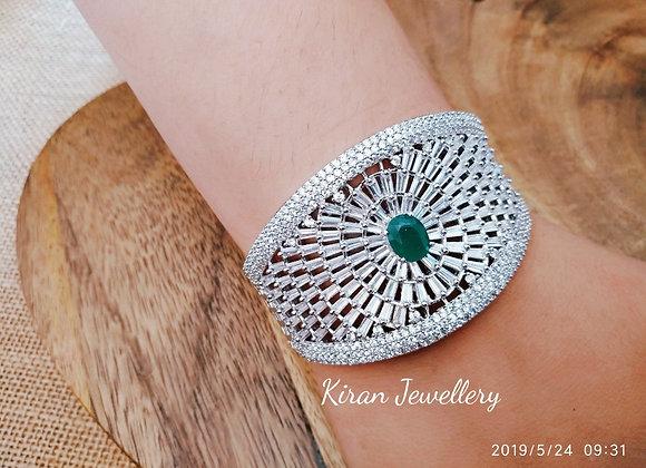 Elegant White Polish Bracelet