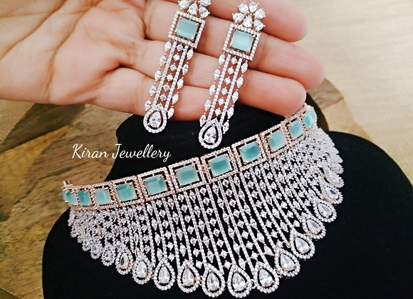 Royal Look Diamond Look Necklace