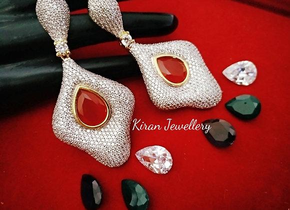 Changeable Stone Earrings