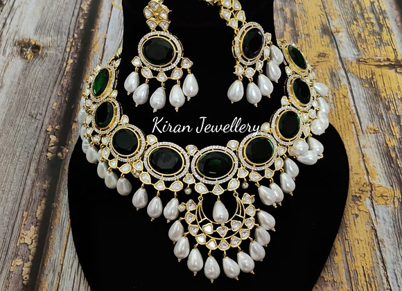 Kundan Necklace(Bridal)