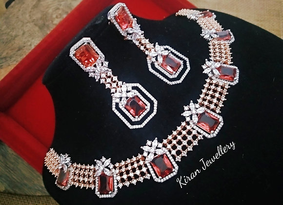 Ruby Stone Kundan Necklace