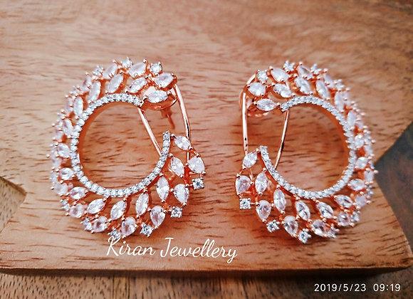 Beautiful Rosegold Earrings