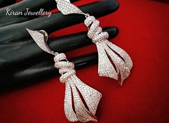 White Polish Stylish Earrings