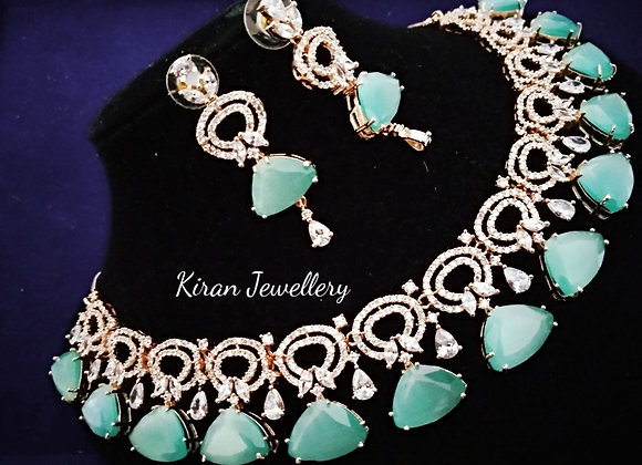 SeaGreen Color Elegant Necklace