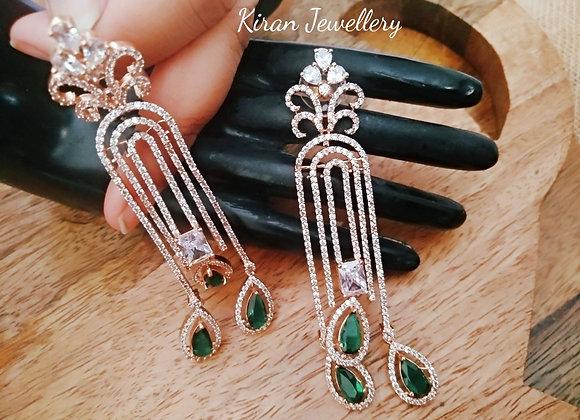 Sleek and Stylish Earrings