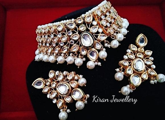 Elegant Kundan Choker Set