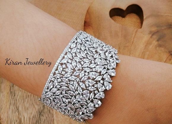 White Polish Stylish Bracelet