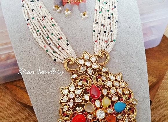 Multicolor Royal Mala Set