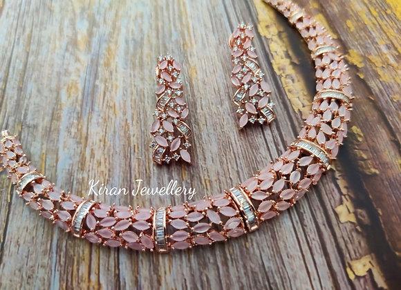 Pink  Elegant Necklace