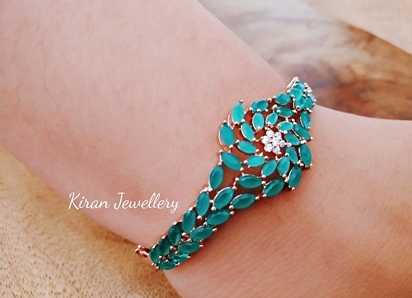 Green AD Bracelet