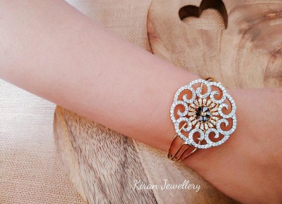 Beautiful Black Stone Bracelet