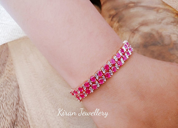 Ruby Stone Beautiful Bracelet