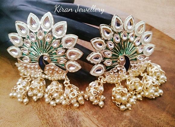 Peacock Stylish Earrings