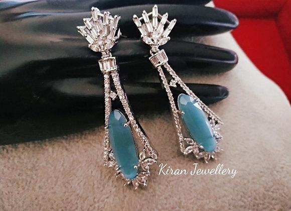 White Polish Elegant Earrings