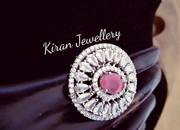 Pink Color Pretty Ring