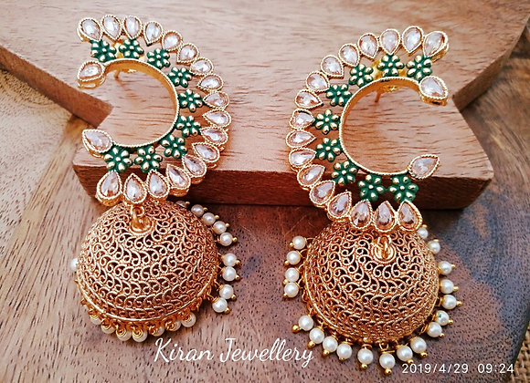 Beautiful POLKI Earrings