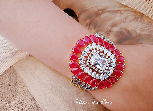 Beautiful Ruby Stone Bracelet