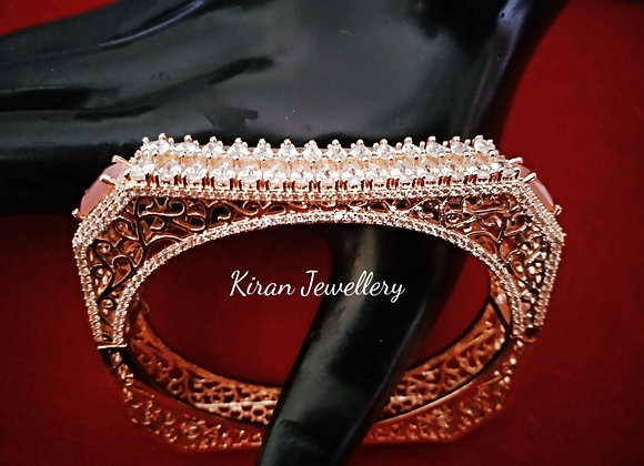 Pink Stone Stylish Bracelet