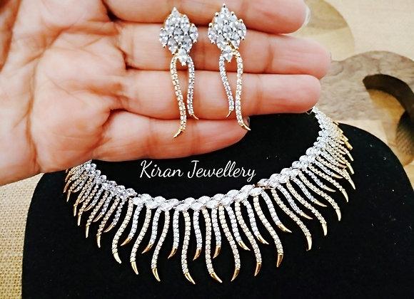 Elegant and Stylish AD Necklace