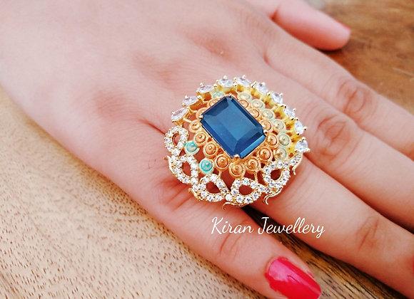 Blue Stone Elegant Ring