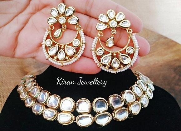 Kundan Necklace Combo