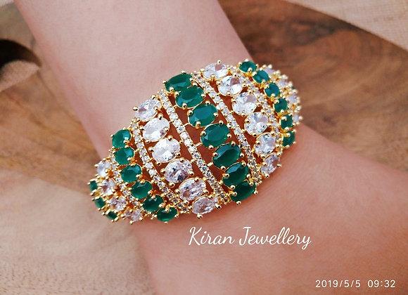 Green Color AD Bracelet