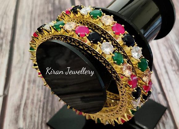 Multicolor Pacheli Bangles
