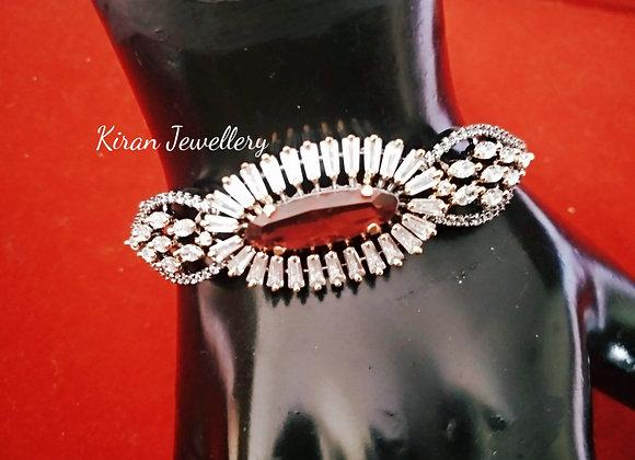 Ruby Stone Stylish Bracelet