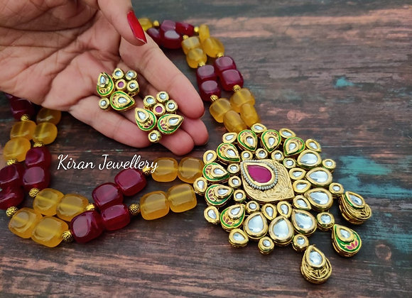 Elegant Kundan Necklace