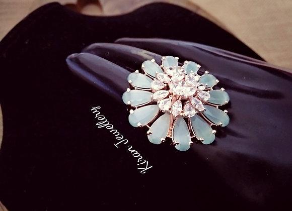SeaGreen Elegant Ring